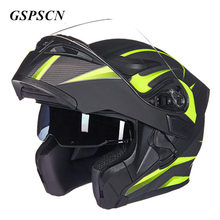 GSPSCN Double Lense Motorcycle Helmet Full Face Helmet Casco Racing Capacete with Sun Visor Capacete Casque moto Capacete
