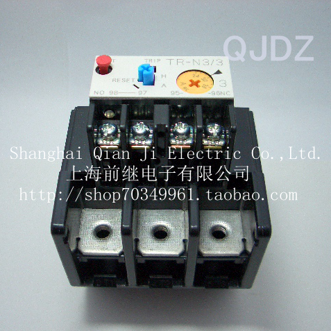TR-N3 / 3TR-N3 / 3 thermal overload relay<br>
