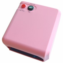 2017 New 36W Nail Lamp Dryer Gel Curing Equipment 3X12W Light Tube UV Lamp Manicure Tools Nail Art Tools Kit For Salon 220V EU