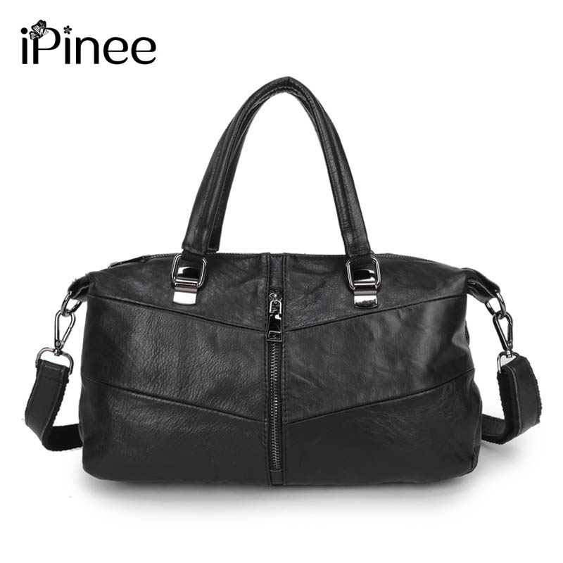 iPinee 2017 Genuine Leather Bag Women Shoulder Bag Famous Brand Handbags Designer Pinee Fashion Bags<br>