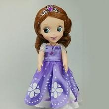 Original edition 12inch Sofia the First Sofia princess dolls Bobbi doll VINYL toys For Kids Best Gift