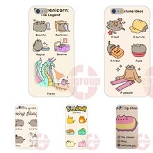 Soft TPU Silicon Popular Hot Marshmallow pusheen cat For Samsung Galaxy Note 2 3 4 5 A3 A5 A7 J1 J2 J3 J5 J7 2016