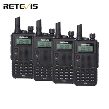 4pcs 7W Walkie Talkie Retevis RT5 Dual Band VHF+UHF 136-174+400-520MHz Scan VOX FM Radio Alarm Ham Radio Hf Transceiver A9108Q(China)