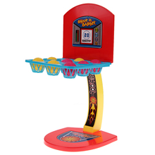 Kids Boys Pretend Outdoor Cool Toy Mini Basketball game Desk Toy Shooting Ball Machine One Or More Players Game Toy for Children