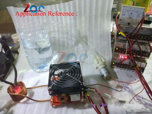 DC 24-36V 20A ZVS Induction Heating Board Flyback Driver Heater DIY Cooker Best