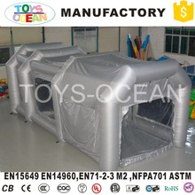 Top one supplier portable used inflatable spray paint booth for sale