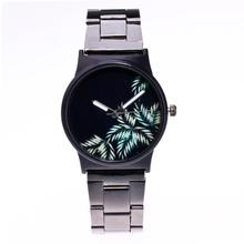 Womens Fashion Picture Design Alloy Band Analog Alloy Quartz Wrist Watch#821(China)