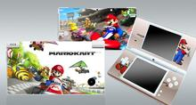Super Mario Kart 112 Vinyl Skin Sticker Protector for Nintendo DSI NDSI skins Stickers