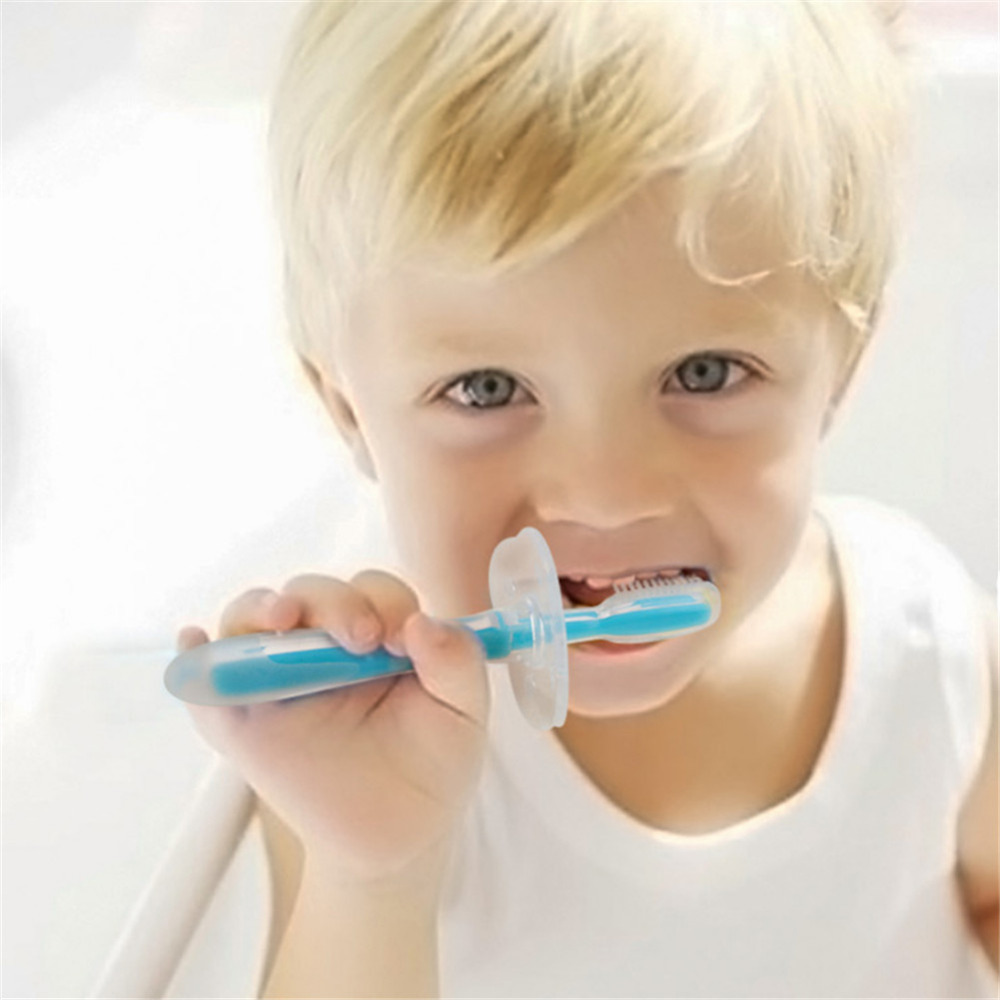 Silicone Kid Toothbrush Dental Care Children Baby Infant Brush Tool Teeth Training Brush Mouth Clean Products