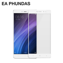 Tempered glass for Redmi 4 EA PHUNDAS Full glass Anti-Explosion Screen Protector Anti-Fingerprint Guard 2.5D Screen film glass(China)