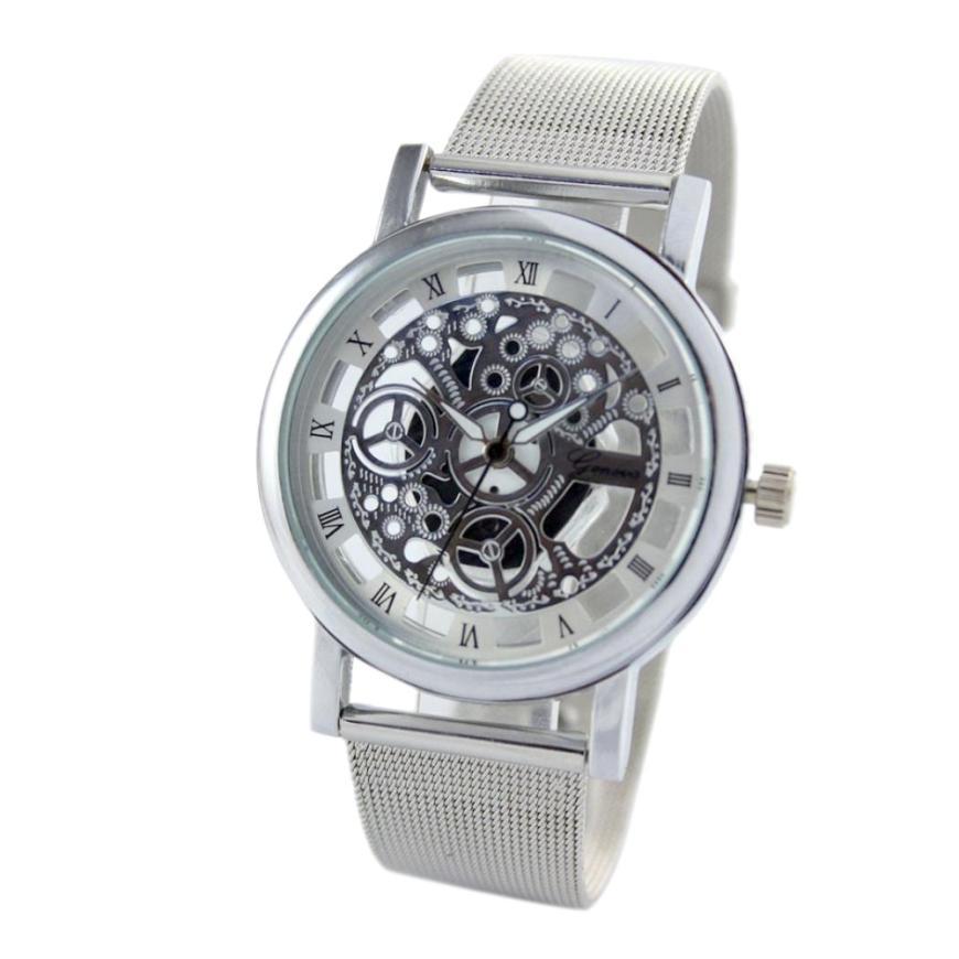 JECKSION Geneva Womens Gold Watch 2016 Fashion Hollow Analog Quartz Dress Watch<br><br>Aliexpress