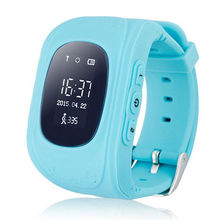 Free Shipping alarm clock gps tracker wrist watch cell phone smartwatch android watch for children
