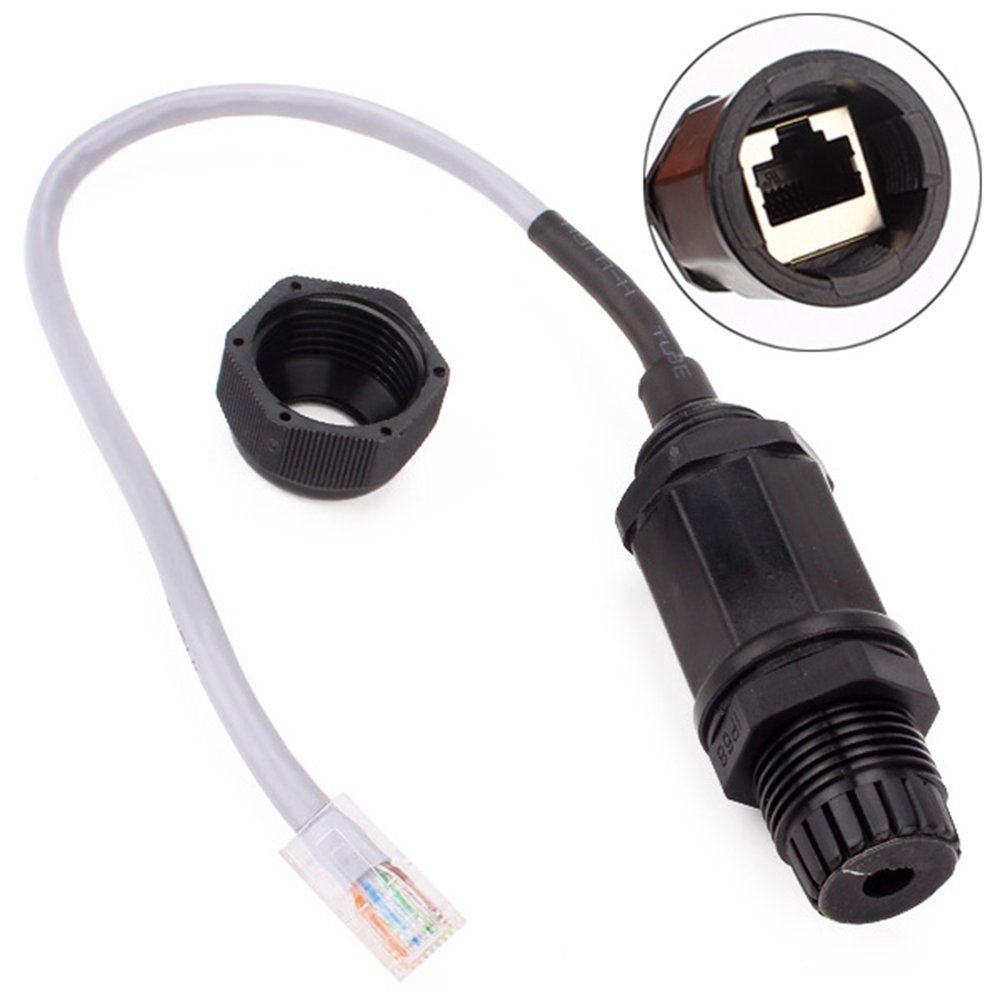 Reliable M20 Ethernet LAN RJ45 Waterproof Connector Twisted-Pair Cables<br><br>Aliexpress