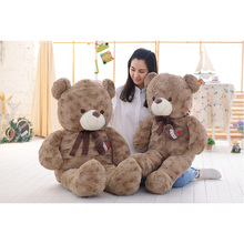 140cm Novel Curly Giant Teddy Bear Soft Plush Toys Stuffed Animals CheapTeddy Bears Skins Dolls For Gifts(China)