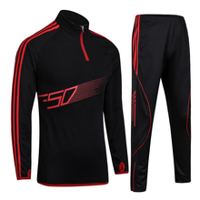 Light board soccer training uniforms running suit suit long - sleeved football basketball player appearance clothing winter spor