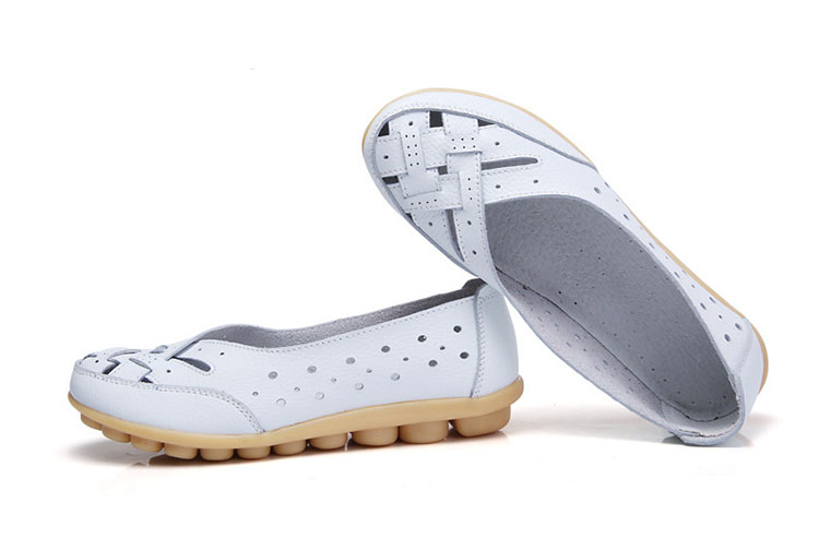 New Arrival Flat Shoes Women Hollow Ballerina Loafer