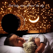 LED Night Light 2 Mode Star Sky Cosmos Master Projector Romantic Room Novelty Starry Sleeping Lights For baby Bedroom Cute Gift