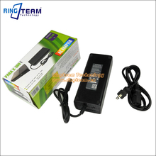 AC Adapter for XBOX 360 Elite Game. PARA X-360 E AC Adapter(China)