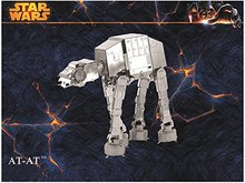 STAR WARS AT-AT Imperial Walker Building Kits 3D Scale Models DIY Metallic Nano Puzzle Toys for adult/kids, 1PC PRICE NO TOOL