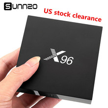 Buy Clearance Sell 5pcs X96 Smart Android 6.0 TV Box 1+8GB eMMC Amlogic S905X Quad Core Set-top Box Kodi 17.3 Streaming Media Player for $189.00 in AliExpress store
