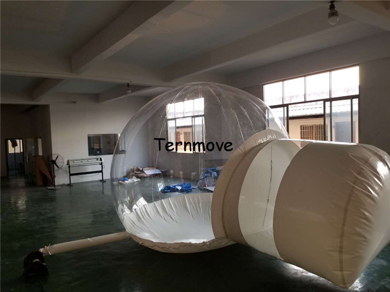 clear Inflatable Bubble Camping Tent9
