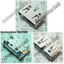 HOT!! 30x New DC Power Jack Micro USB JACK End Plug Socket Mini HDMI  for netbook/tablet pc/mp3/mp4 / Sony /DELL/Asus 19-pin