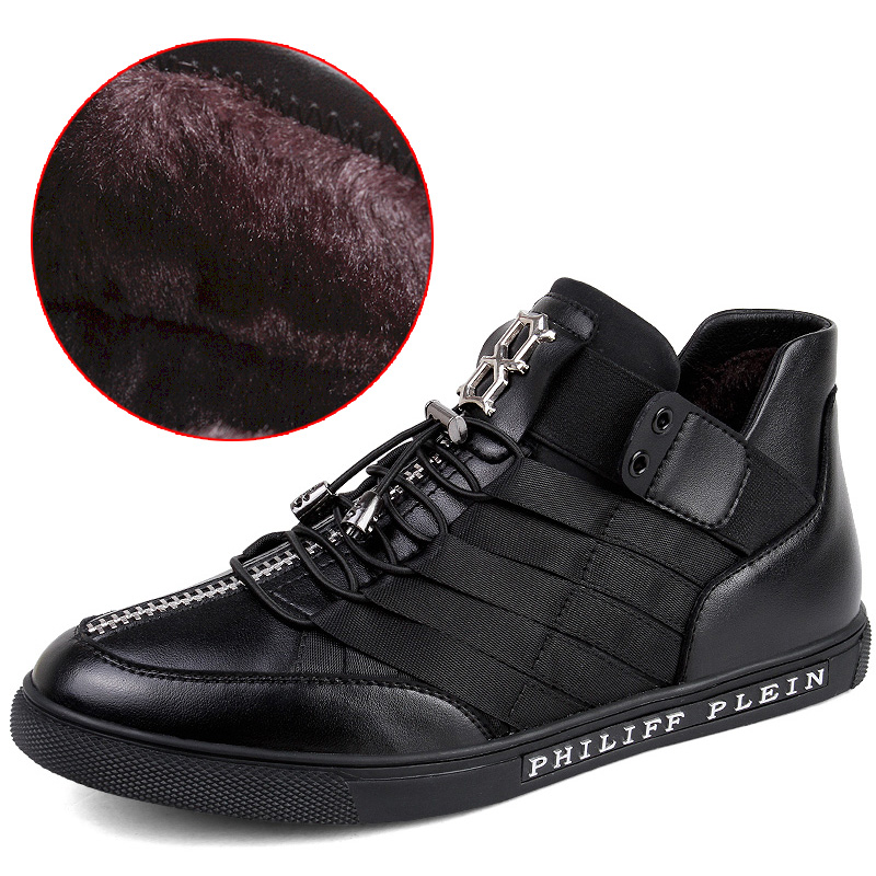 Fashion Winter Shoes Men Breathable Black Winter Men Shoes Casual High Quality Lace Up<br><br>Aliexpress