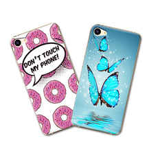 "Grid Cartoon Painted Hard Plastic Cute Case Meizu U20 4G LTE MTK Helio P10 Case Cover fundas Meizu u20 meilan u20 U 20 5.5""+Gift"