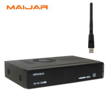 original  HEROBOX EX HD DVB-S2 Linux Enigma2 751MHz MIPS digital satellite receiver support  Blackhole Openpli openatv image
