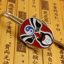 Metal Facebook travel notebook bookmarks Peking Opera mask bookmarks Chinese characteristics gifts