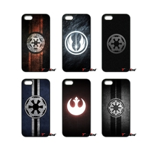 For iPod Touch iPhone 4 4S 5 5S 5C SE 6 6S 7 Plus Samung Galaxy A3 A5 J3 J5 J7 2016 2017 Star Wars Imperial Logo Designs Case