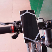 Universal Silicon Smartphone Bike Mount Cell Phone Holder Fits For iPhone Samsung