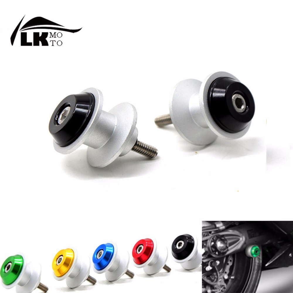 Universal 6mm CNC Motorcycle motorbike Stands Starting Screws Swingarm Spools Sliders Bolts  For bmw x5 e53  f10 e34 e30  <br><br>Aliexpress
