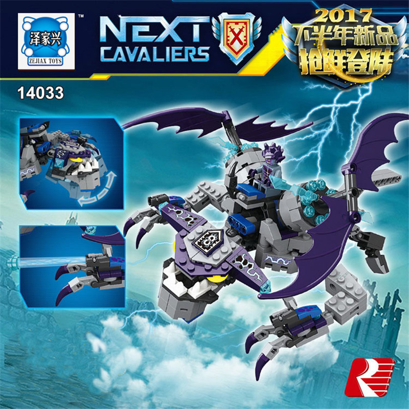 362pcs Future Knights Next Cavaliers Lepines Building Block Nexo Bricks Figures Block DIY Educational Children Toys Gift<br>