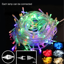 33FT LED Christmas Light tree 10m 50led Xmas party holiday Led String light decorative wedding lights fairy led garland