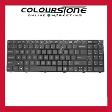 US Laptop keyboard For MSI CR640 CX640 A6400 Black colour laptop keyboard repalcement with frame V128862AS2 With High Quality(China)