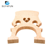 Hot Sale Professional Cello Bridge for 4/4 Size Cello Exquisite Maple Material Cello Accessories(China)