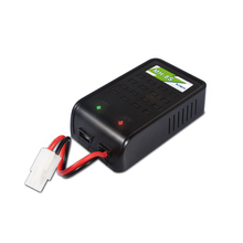 EV-PEAK MH-8S NiMH NiCd 1-8 cells RC Battery Balance Simple Charger EU/US/UK/AU plug power supply wire