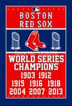 Boston Red Sox World Series Champions Flag 3ft x 5ft Polyester MLB flag(China)