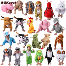 24 Styles Animal Disfraces Cosplay Sets Halloween Costumes For Kids Children's Christmas Clothing Boys Girls clothes 2T-9Y(China)