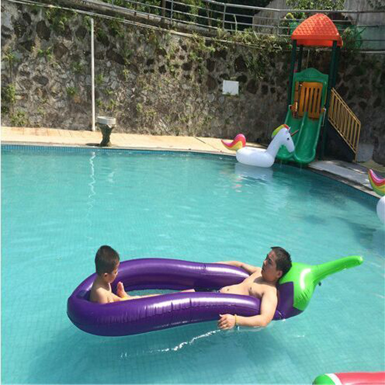 250-100cm-Giant-Inflatable-Eggplant-Mesh-Pool-Float-Swimming-Board-Inflated-Floating-Mattress-Water-Toys-Fun (3)