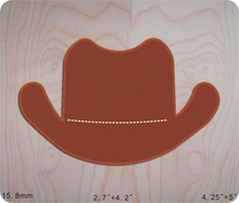 hat Wooden Die Fits Big shot Pro, Sizzix New