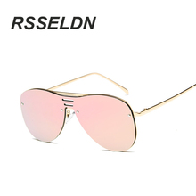 RSSELDN Round Glasses New Vintage Fashion Summer Cool Sunglasses Women Men Brand Designer Sunglasses Men/Women Brand Designer(China)