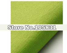 Plain Candy Color Thickening Canvas Soild Textured Upholstery Sofa Cushion Cover Fabric By The Meter