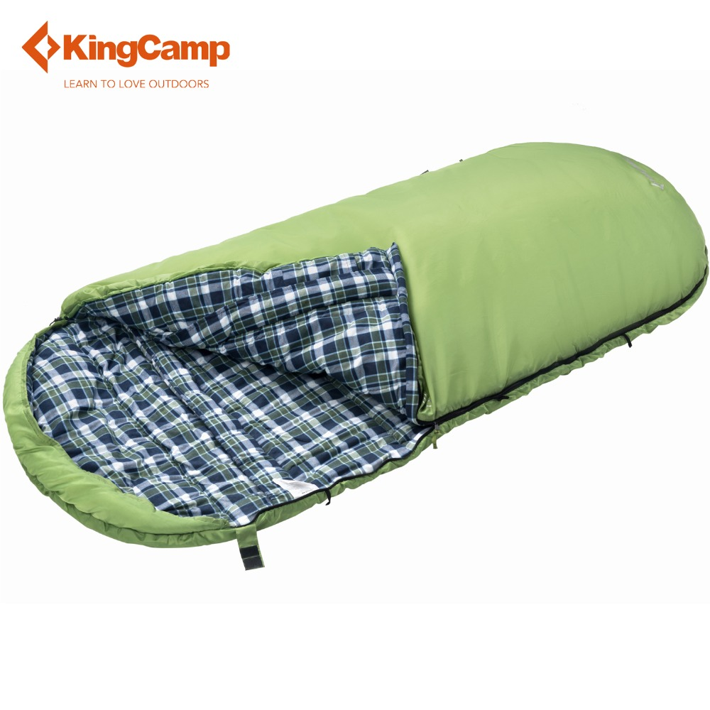 KingCamp sleeping bag camping lazy bag Free Space 220 X 110cm 2 colors all season sleeping bag adult bivy bag outdoor equipment<br><br>Aliexpress
