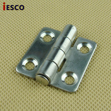 Stainless steel door hinge cabinet door hinge distribution box for switch cabinet hinge cabinet hinge 37*36(China)