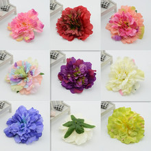 11cm (20 pcs)Home accessories artificial flower dahlia silk flower bags diy hat flower decoration flower