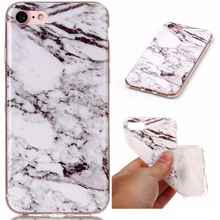 Phone Cases For iPhone 7 Case Marble Stone image Painted Cover Mobile Phone Bags & Case For iPhone7(China)
