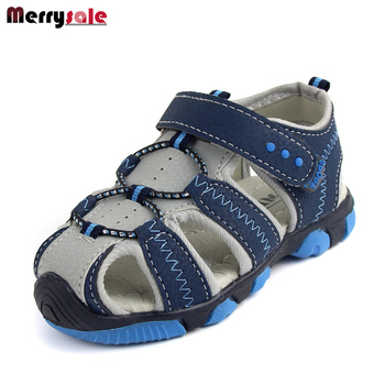 2017 men's sandals boy shoes casual sandals and anti-slip hollow air children sandals boys sandals