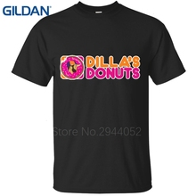 Trend J Dilla Jay Dee Donuts Rap Music Zomer t-shirts Leisure Hop plus size black shirts chinese
